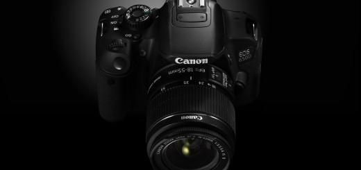 EOS 650d front angle