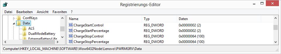 Lenovo Energy Manager unter Windows 8/Windows 8 1/Windows 10