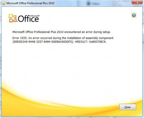 Install issues for Office 2000 Professional on Windows 8 laptop