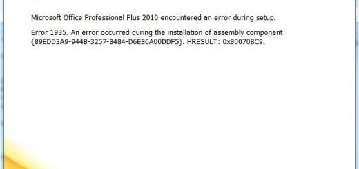 Office 2000 Installationsfehler