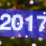 Lightpainting 2017 vor Weihnachtsbaum